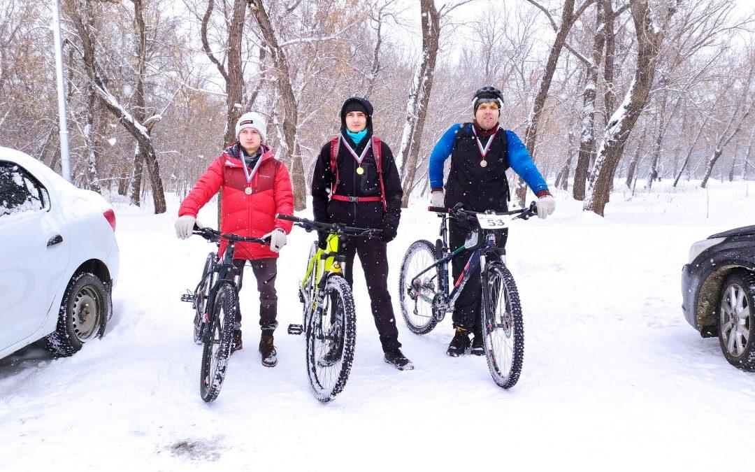 Протокол зимнего велокросса