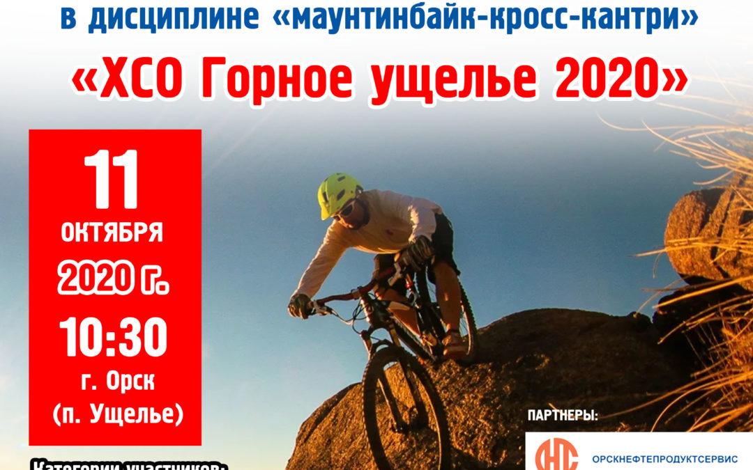 Чемпионат и Первенство Оренбургской области по велосипедному спорту в дисциплине «маунтинбайк-кросс-кантри»